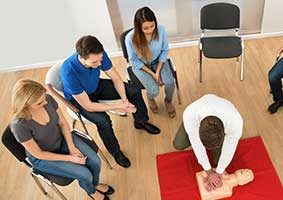 First Aid Courses for Groups
